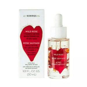 Korres Wild Rose Vitamin C Brightening Oil NEW